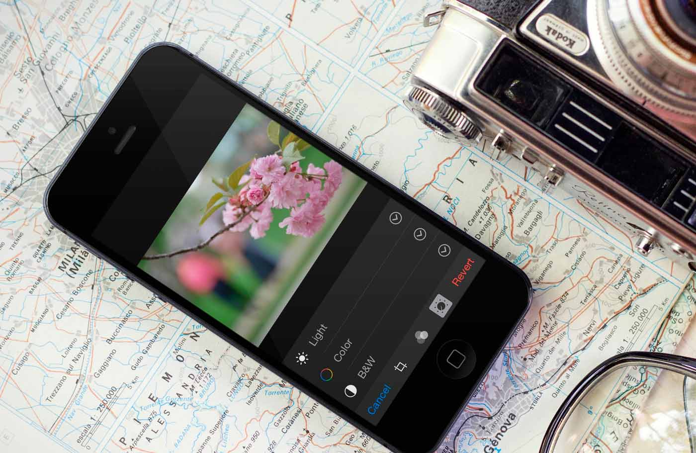Tutor for Photos for the iPhone