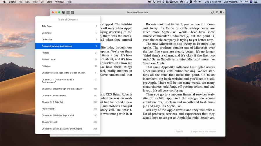 Tutor for Books for Mac