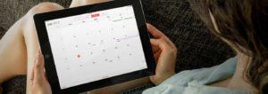 Tutor for Calendar for the iPad
