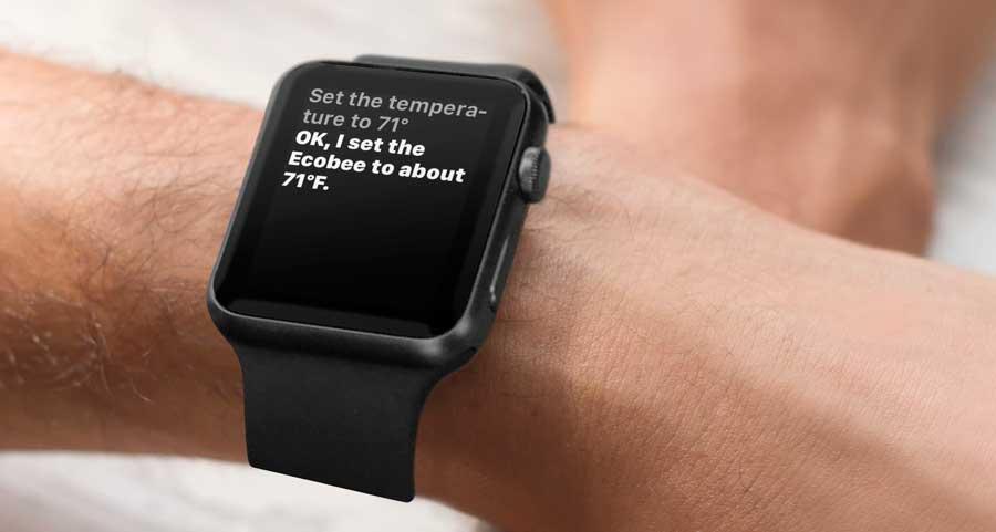 Ecobee apple watch