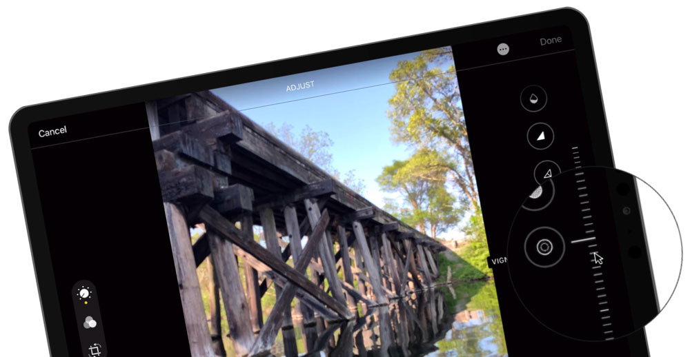 New in Photos on the iPad