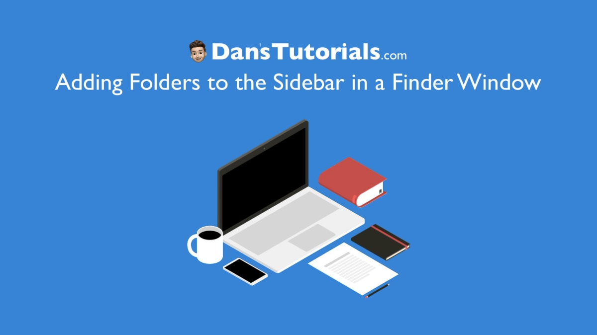 Adding a Folder to the Sidebar in a Finder Window