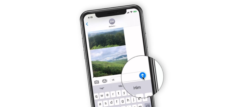 Text Message Basics on the iPhone