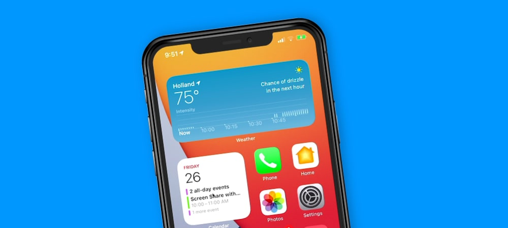 First thoughts on Widgets with iOS 14