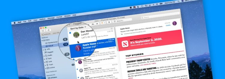 Add Contact Photos to Messages in Mail on the Mac