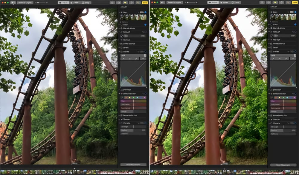 Comparing Before/After Edits in Photos on the Mac
