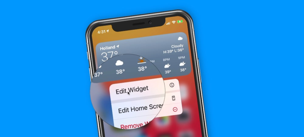 Learn how to edit widgets on your Home Screen and Today View on the iPhone.