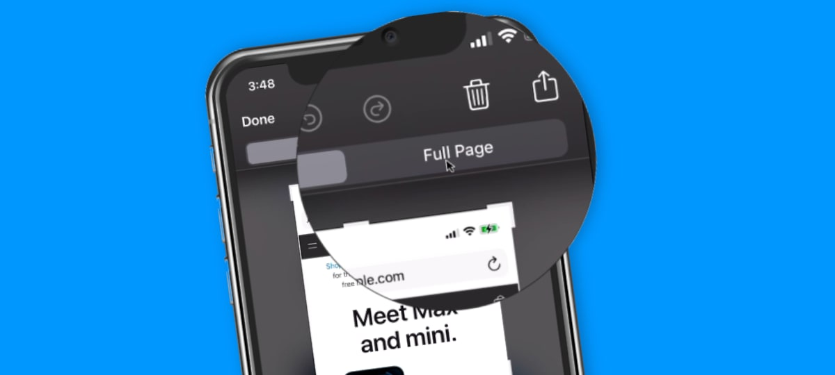 Save a Webpage as a PDF on the iPhone