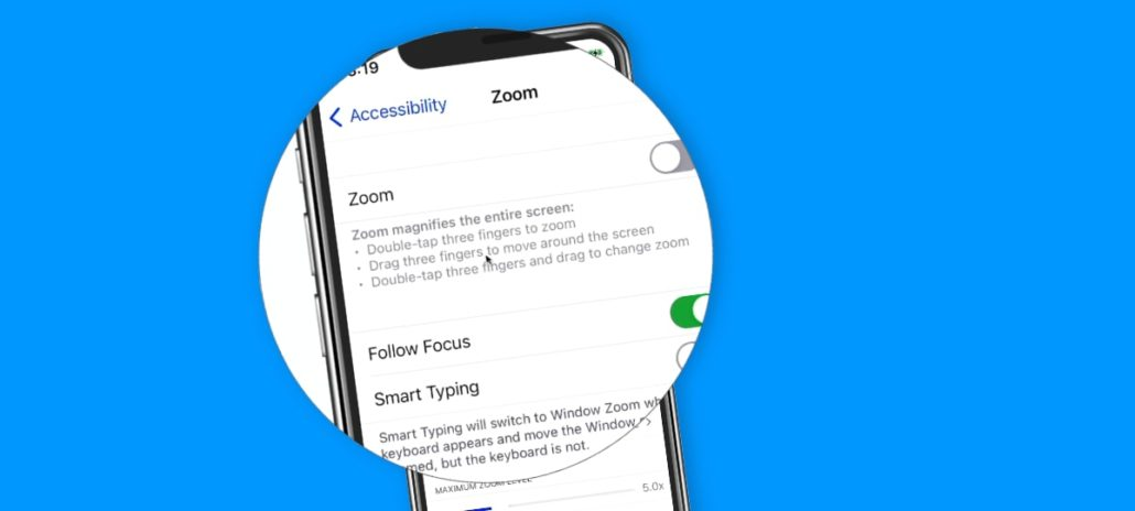 Learn how to zoom into your iPhone to make it easier to read.