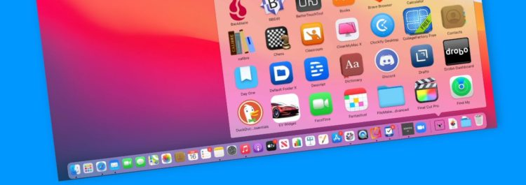 Add the Applications Folder to the Dock on the Mac