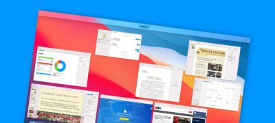View All Open Windows as Thumbnails on the Mac