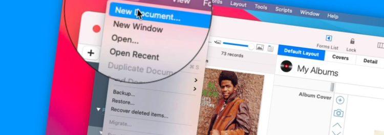 Create New Database Documents