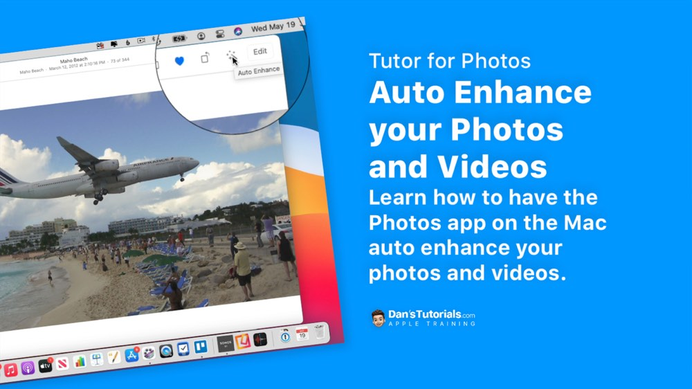 Auto Enhance your Photos and Videos with Photos on the Mac