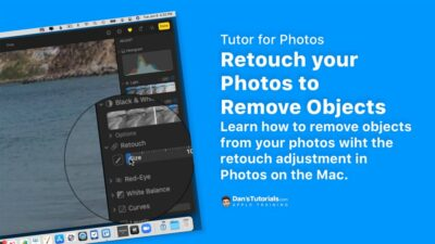Retouch your Photos to Remove Objects in Photos on the Mac