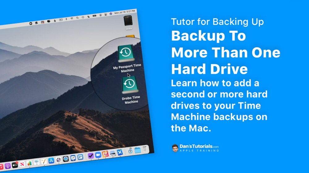 Backup To More Than One Hard Drive on the Mac