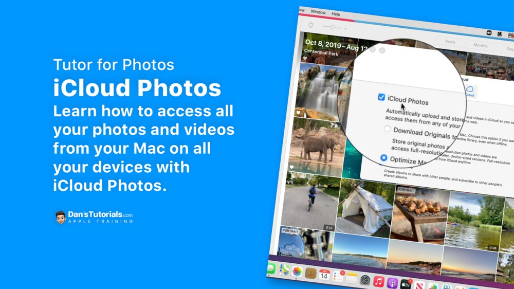 Setting up iCloud Photos in Photos on the Mac