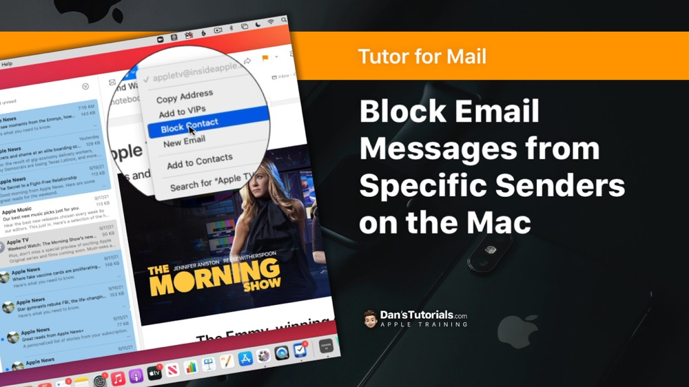 Block Email Messages from Specific Senders in the Mail app on the Mac