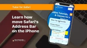Learn how to move Safari's Address Bar on the iPhone
