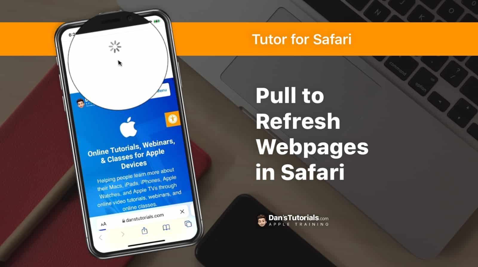 Pull to Refresh Webpages in Safari on the iPhone