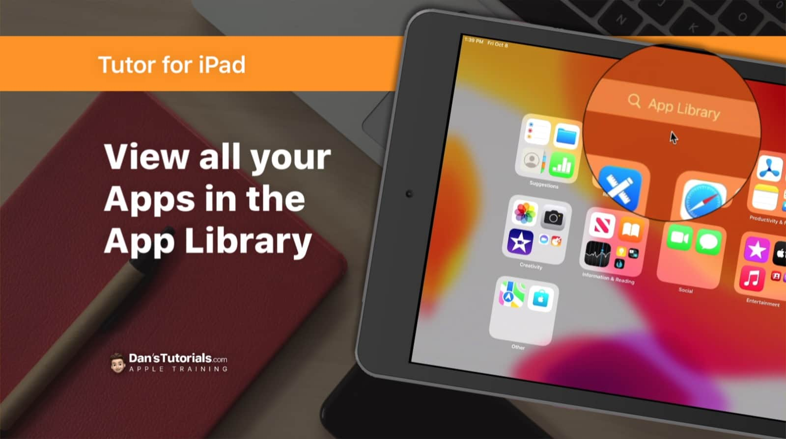 View All your Apps in the App Library on the iPad