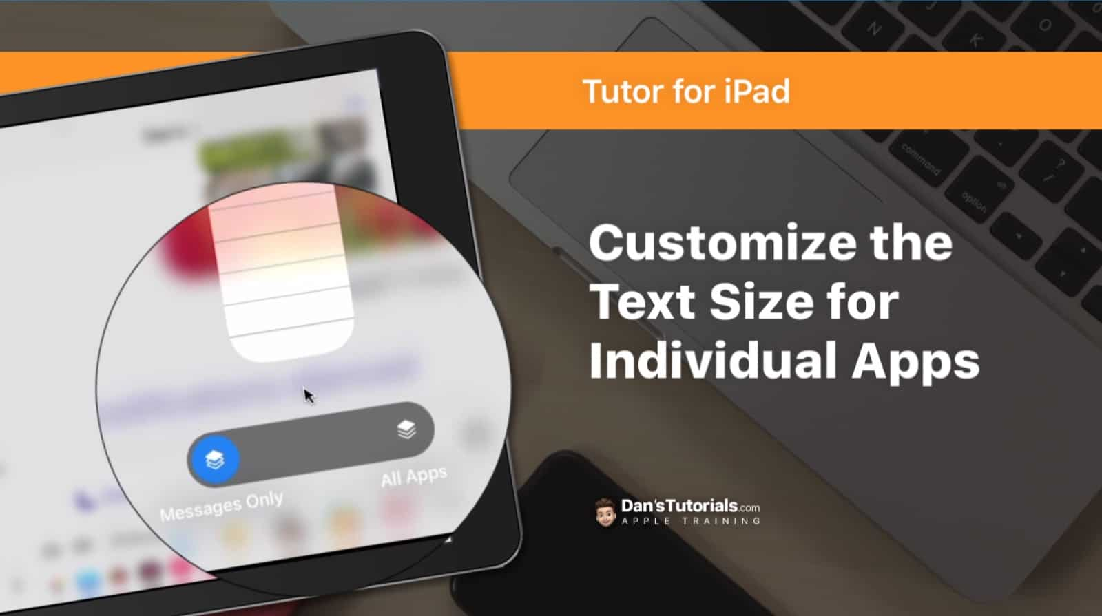 Set the Text Size for Individual Apps on the iPad